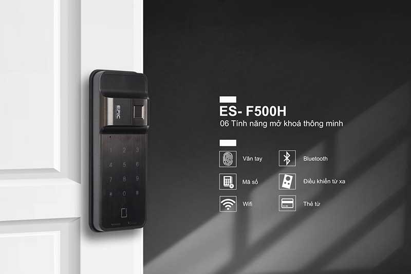 Khóa điện tử Epic ES F500 H- Chức năng cơ bản