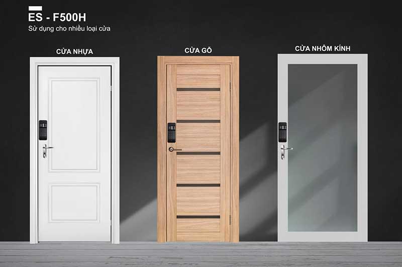 Lắp đặt Khóa điện tử Epic ES F500 H_ Các loại cửa