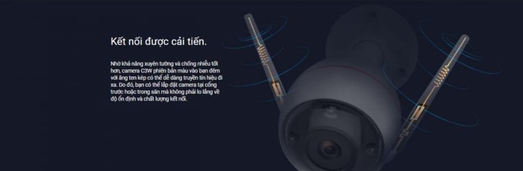 Camera Wifi 2MP EZVIZ 1080P C3W Full color (CS-CV310-A0-3C2WFRL) - Kết nối được cải tiến