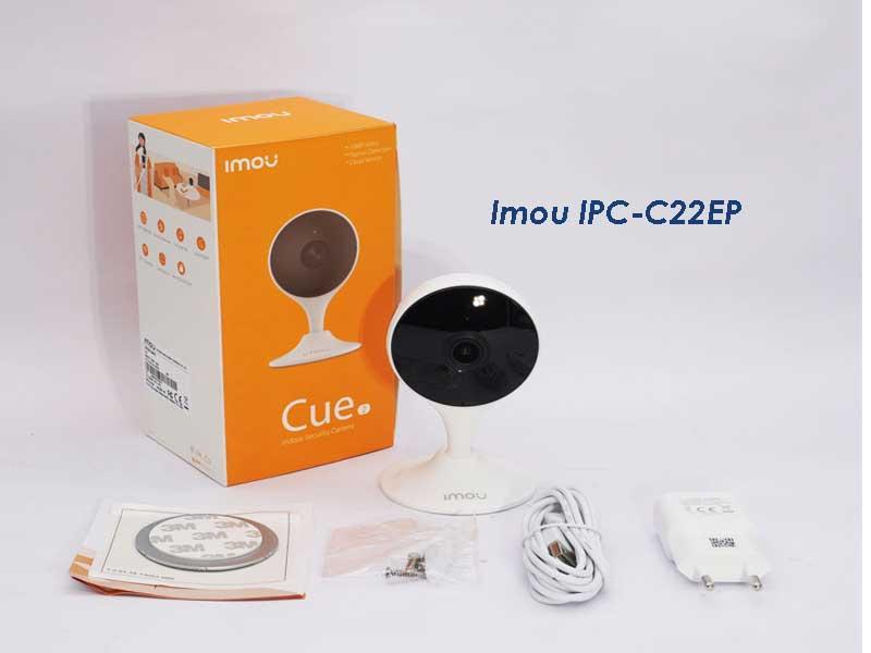 Mở hộp Camera IPC-C22EP-IMOU