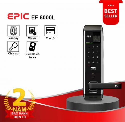 Khóa điện tử Epic EF 8000L