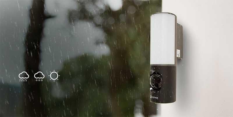 Camera LC3 được trang bị chuẩn IP65