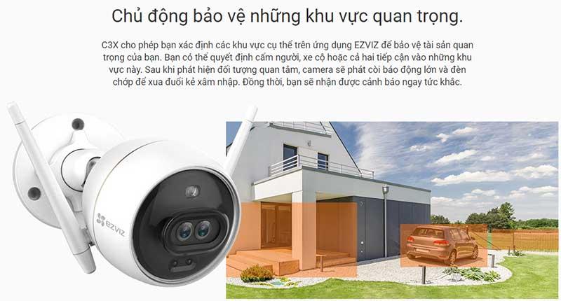 Camera EZVIZ C3X - Bảo vệ khu vực quan trọng